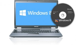 windows8 cd & laptop