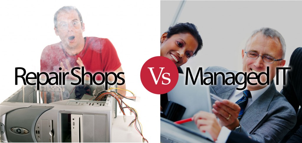 Computer Repairshop vs managed IT Service