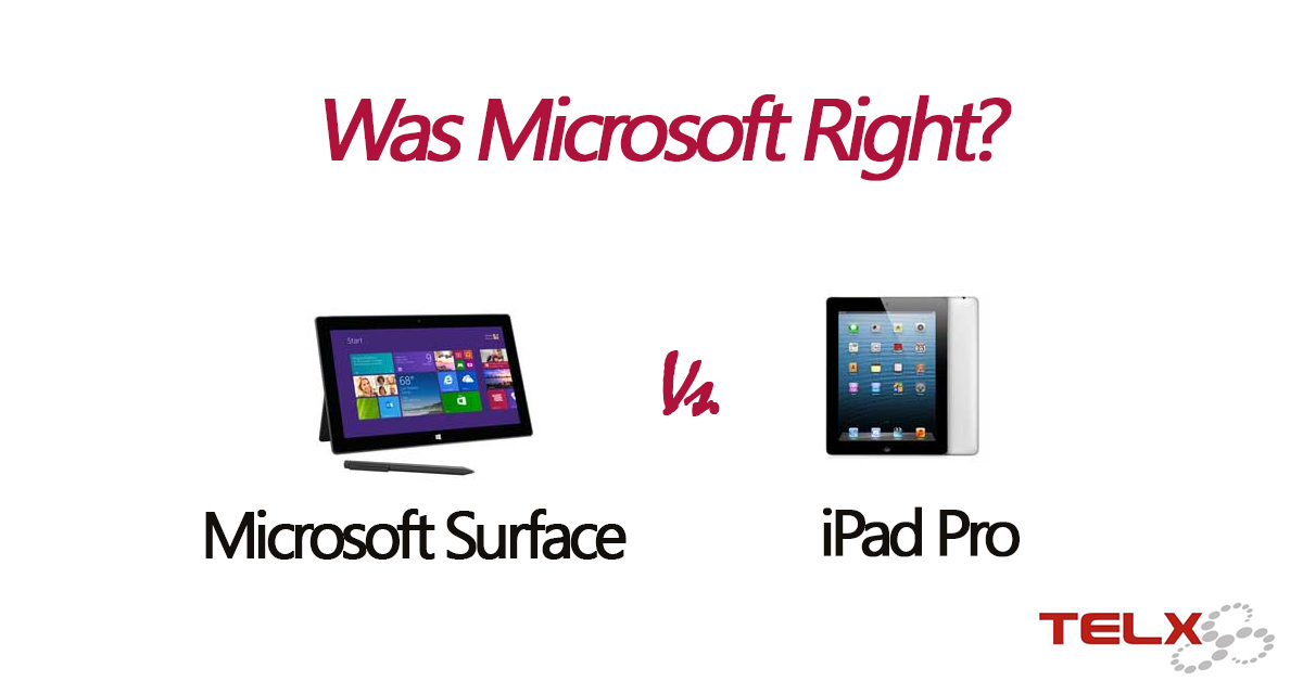 microsoft surface vs ipad pro